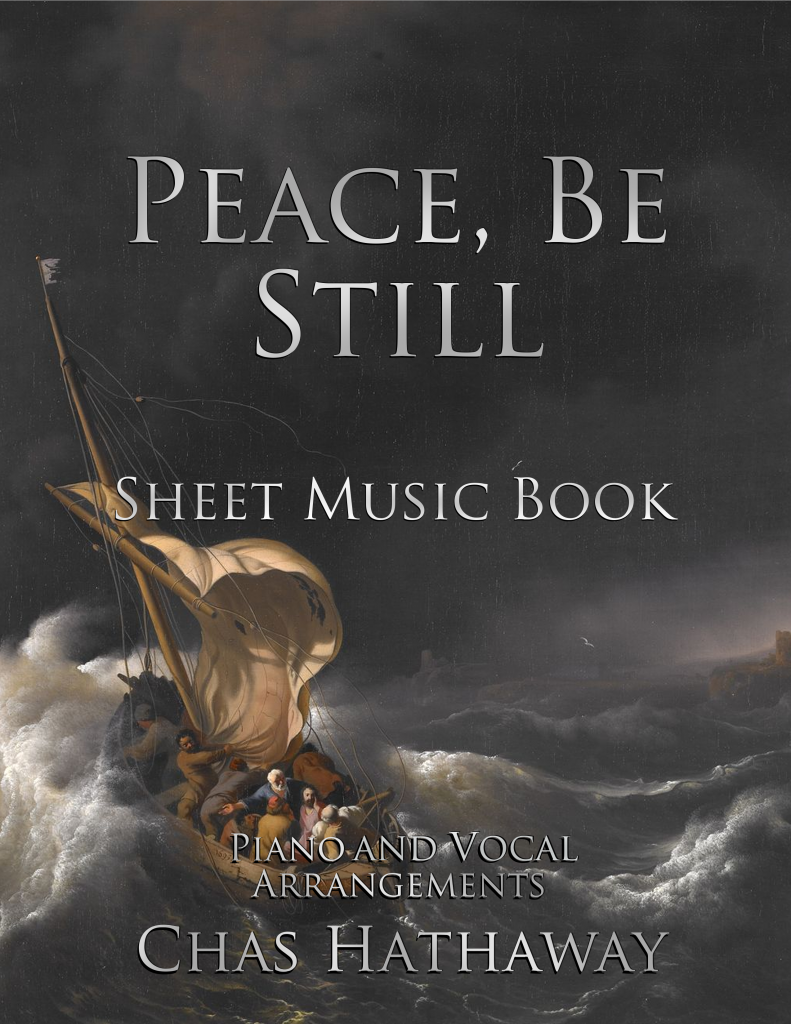 Peace Be Still Sheet Music Book