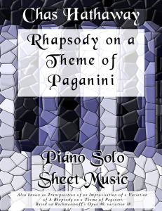 Rhapsody on a Theme of Paganini